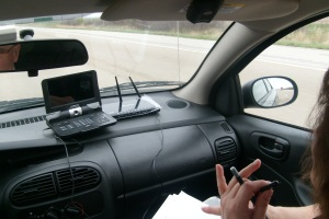 Calling Senators on the road